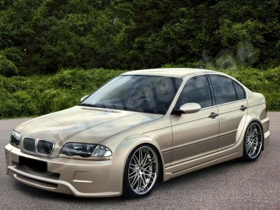 "KIT CARROSSERIE LARGE COMPLET BMW E46 BERLINE WIDE BODY ""COSMIC"" (1998/2005)"