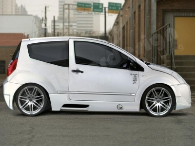 KIT CARROSSERIE LARGE COMPLET CITROEN C2 WIDE BODY PROTO