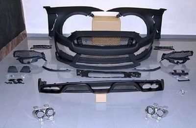 KIT CARROSSERIE COMPLET FORD MUSTANG VI LOOK GT350 PHASE 1 (2014/07-2017) OU PHASE 2 LOOK GT500 (2018/2021)