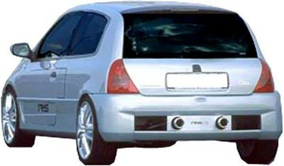 """PARE CHOC ARRIERE RENAULT CLIO II """"LOOK V6"""" SPTG (1998/2006)"""