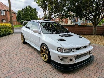 KIT CARROSSERIE SUBARU IMPREZA GT GC8 22B BERLINE 4 PORTES WRC LOOK WIDE BODY (1993/2001)