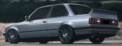 AILERON DE COFFRE BMW E30 TYPE DUCK TAIL ST STYLE (1982/1994)