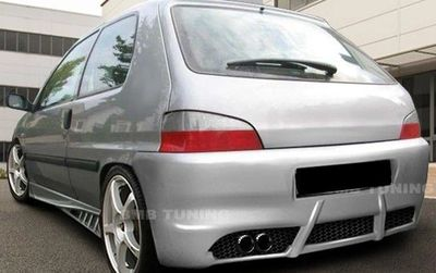 PARE CHOC ARRIERE ADAPTABLE PEUGEOT 106 PHASE 2 ST STYLE (1996/2003)
