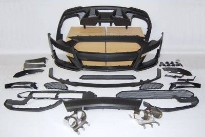 KIT CARROSSERIE COMPLET FORD MUSTANG VI GT350 PHASE 1 (2014/07-2017) OU PHASE 2 LOOK GT500 (2018/2021)