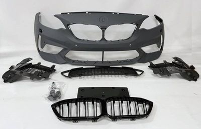 PARE CHOC AVANT COMPLET BMW SERIE 2 F22/F23 PHASE 1 LOOK M2C F87 (11-2013/05-2017)