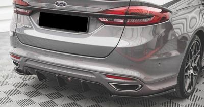 SPLITTER CENTRAL DE PARE CHOC ARRIERE LOOK DIFFUSEUR FORD MONDEO V ST LINE PHASE 2 (2019+)