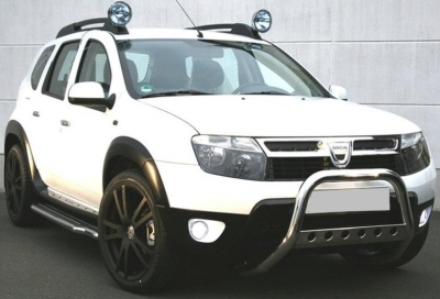 kit offroad chrome dacia duster 2010. Black Bedroom Furniture Sets. Home Design Ideas