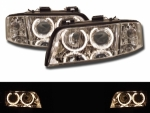 PHARES ANGEL EYES AUDI A6 TYPE C5/4B PHASE 1 (05-1997/05-2001)