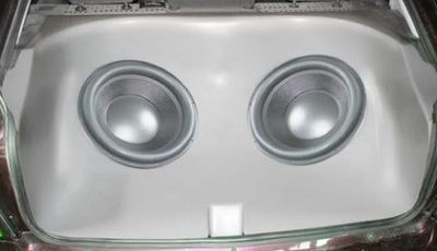 boom box opel astra g subwoofers 12