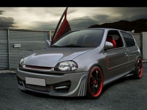 KIT CARROSSERIE COMPLET RENAULT CLIO II PHASE 1 ST LINE (1998/2001)