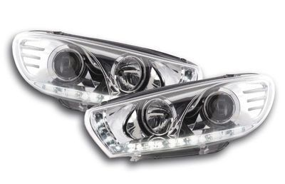 """PHARES A LEDS DEVIL EYES """"DRL LOOK"""" VW SCIROCCO (2008/04-2014)"""