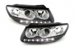 "PHARES A LEDS DEVIL EYES ""DRL LOOK"" HYUNDAI SANTA FE 2006/2009"