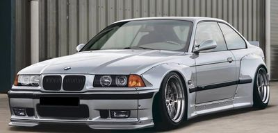 KIT CARROSSERIE WIDEBODY ULTRA RACING BMW E 36 COUPE ST LINE (1991/1998)