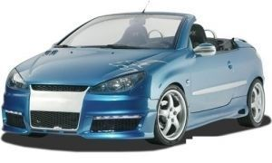 PARE CHOC AVANT CARZONE PEUGEOT 206 LOOK GTI RD LINE (1998/2009)