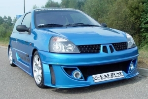 KIT CARROSSERIE COMPLET RENAULT CLIO II PHASE 1 (1998/2001) OU P¨HASE 2 (2001/2006)