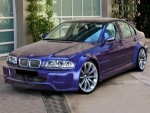 KIT CARROSSERIE LARGE COMPLET BMW E46 (98-05)WIDE BODY