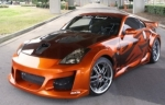 KIT CARROSSERIE COMPLET NISSAN 350Z WIDE BODY VENOM