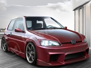 KIT CARROSSERIE COMPLET PEUGEOT 106 PH2 WIZARD WIDE BODY 3 PORTES (1996/2003)