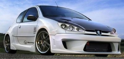 KIT CARROSSERIE COMPLET PEUGEOT 206 XEDOS WIDE BODY 3 PORTES (1998/2009)
