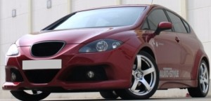 "KIT CARROSSERIE COMPLET SEAT LEON II 1 P PHASE 1 ""KONDOR WIDE BODY"" (2005/2009)"