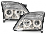 PHARES ANGEL EYES OPEL VECTRA C PHASE 1 2002/2005 OU SIGNUM 2003/2005