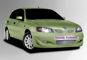 """KIT CARROSSERIE COMPLET ADAPTABLE NISSAN ALMERA N16 3/5P """"INSPIRATION"""" (2000/2006)"""