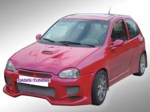 KIT CARROSSERIE COMPLET ADAPTABLE OPEL CORSA B 3P RED DEVIL (1992/2000)