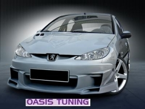KIT CARROSSERIE COMPLET ADAPTABLE PEUGEOT 206 3/5P SKYLINE/SATURN (1998/2009)