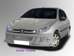 KIT CARROSSERIE COMPLET ADAPTABLE PEUGEOT 206 5P MARS (1998/2009)