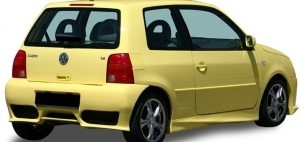 PARE CHOC ARRIERE VW LUPO 6X CS STYLE (1998/2005)