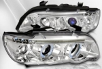 PHARES ANGEL EYES A LEDS BMW X5 99/03