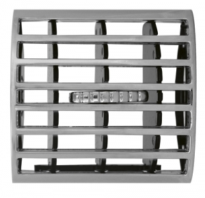 GRILLES D'AERATION INTERIEURE CHROMEES OPEL ASTRA G