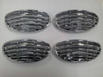 GRILLES D'AERATION INTERIEURES CHROMEES FORD FOCUS 2004/2008