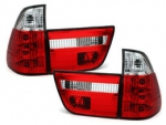 FEUX CRISTAL RED BMW X5 E53 PHASE 1 (1999/10-2003)