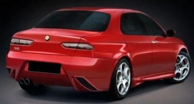 PARE CHOC ARRIERE ADAPTABLE ALFA 156 SNAKE