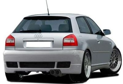 "PARE CHOC ARRIERE ADAPTABLE AUDI A3 ""REBEL/WARRIOR"" (1996/2003)"