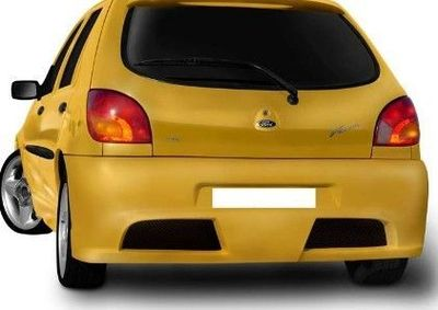 """PARE CHOC ARRIERE ADAPTABLE FORD FIESTA MK5 PHASE 1 """"T-REX"""" (1995/08-1999)"""