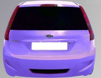 PARE CHOC ARRIERE ADAPTABLE FORD FIESTA MK6 RAVEN