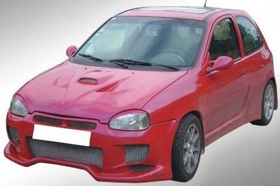 PARE CHOC AVANT ADAPTABLE OPEL CORSA B RED DEVIL (1992/2000)