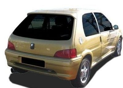 "PARE CHOC ARRIERE ADAPTABLE PEUGEOT 106 PHASE 2 ""METHOD"" (2000/2004)"