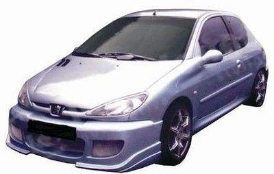 PARE CHOC AVANT ADAPTABLE PEUGEOT 206 DRIFT (1998/2009)