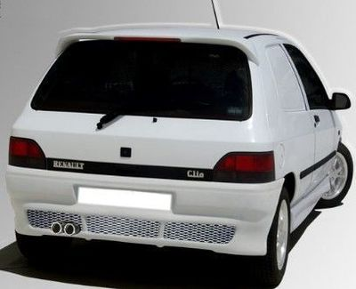 "PARE CHOC ARRIERE ADAPTABLE RENAULT CLIO 1 ""AGRESSOR"" (1990/1998)"