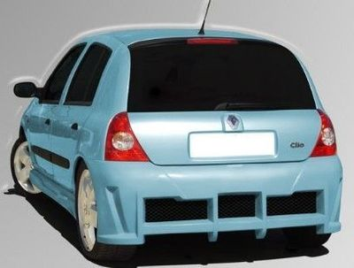 """PARE CHOC ARRIERE ADAPTABLE RENAULT CLIO II """"COYOTE/INDY"""" (1998/2006)"""