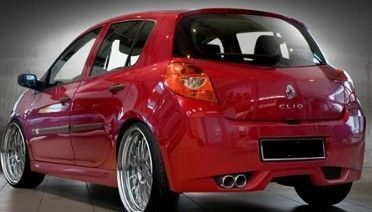 "PARE CHOC ARRIERE ADAPTABLE RENAULT CLIO III ""SPACE"" (2005/2009)"