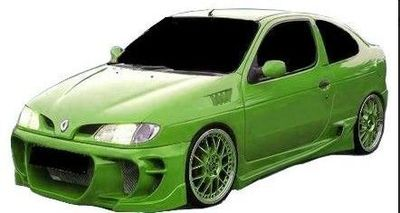 "PARE CHOC AVANT ADAPTABLE RENAULT MEGANE COUPE PHASE 1 ""TOXIC"" (1996/1999)"