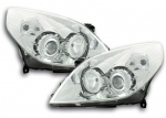 PHARES ANGEL EYES OPEL VECTRA C PHASE 2 2005/2008 OU SIGNUM 2005/2008