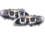 """PHARES ANGEL EYES A LEDS """"DRL LOOK"""" BMW E46 BERLINE/TOURING PHASE 2 (09-2001/2005)"""