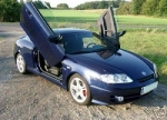 KIT LAMBO DOORS LSD HYUNDAI COUPE 2002+