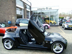 kit lambo doors lsd smart roadster. Black Bedroom Furniture Sets. Home Design Ideas