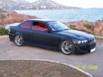 "BMW 318 IS E36 COUPE ""LE ROUGE ET LE NOIR"" OASIS TUNING"